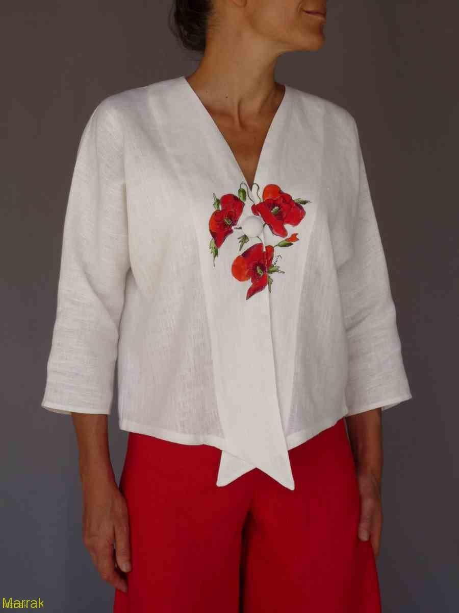 001 (5)-Création de vêtements en lin sur mesure Marie LARTHET