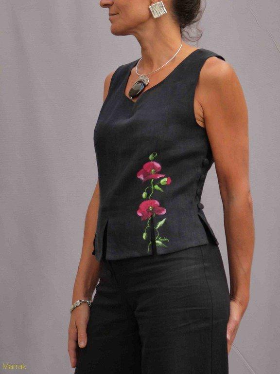 17-Création de vêtements en lin sur mesure Marie LARTHET