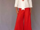 001 (4)-Création de vêtements en lin sur mesure Marie LARTHET