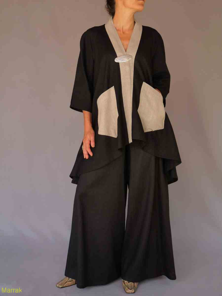 001 (12)-Création de vêtements en lin sur mesure Marie LARTHET