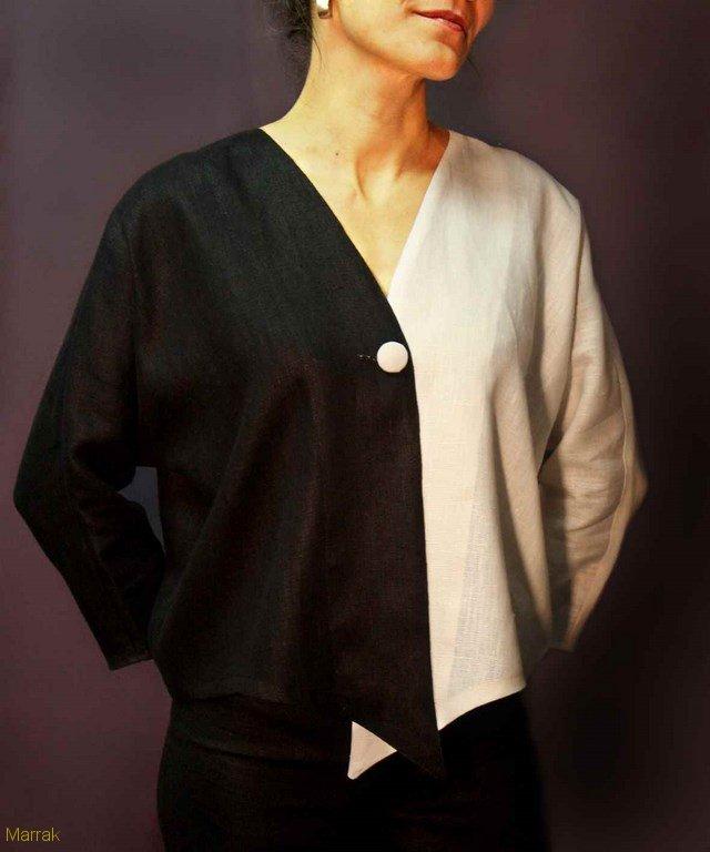 130-Création de vêtements en lin sur mesure Marie LARTHET