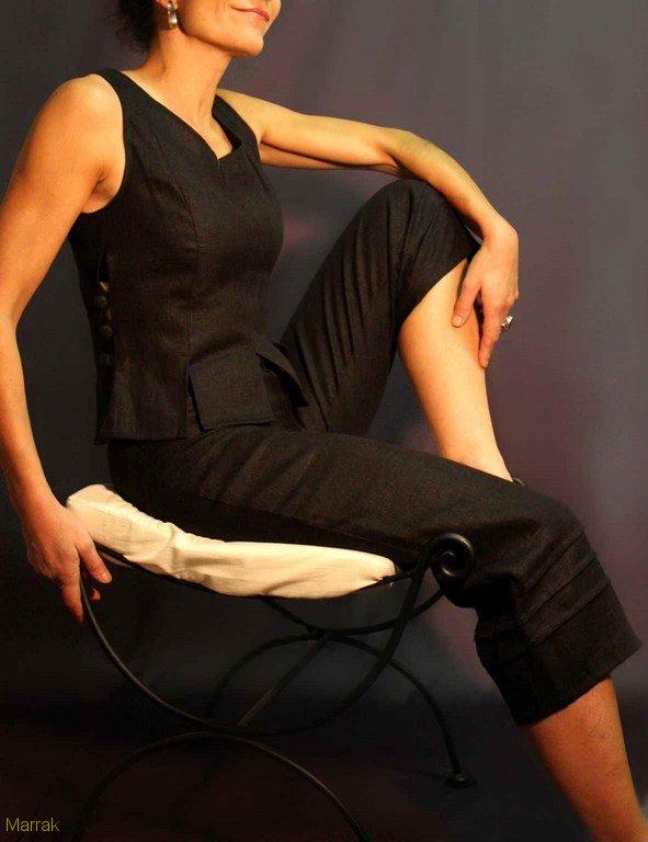 131-Création de vêtements en lin sur mesure Marie LARTHET