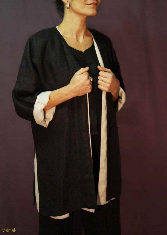 134-Création de vêtements en lin sur mesure Marie LARTHET