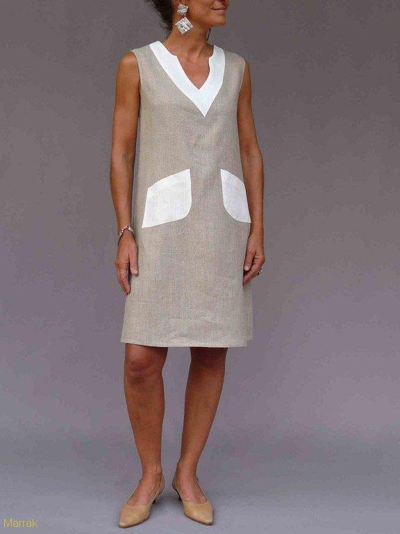 27-Création de vêtements en lin sur mesure Marie LARTHET