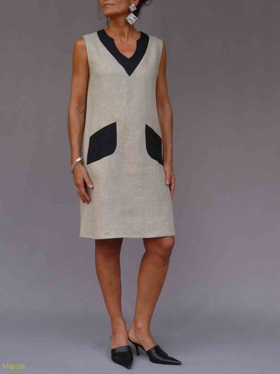28-Création de vêtements en lin sur mesure Marie LARTHET