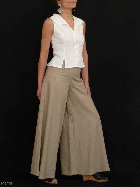 59-Création de vêtements en lin sur mesure Marie LARTHET