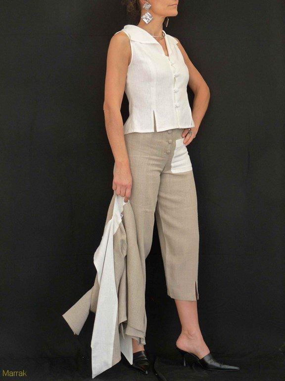72-Création de vêtements en lin sur mesure Marie LARTHET