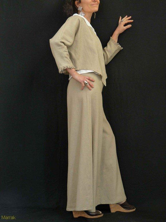 76-Création de vêtements en lin sur mesure Marie LARTHET