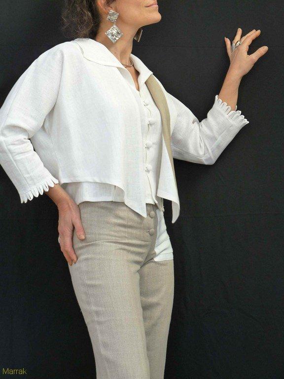 82-Création de vêtements en lin sur mesure Marie LARTHET