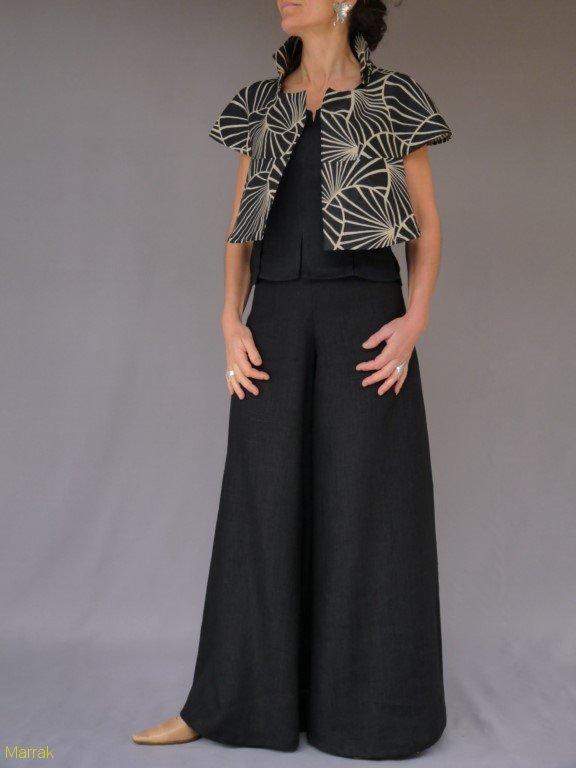 Pantalon:150€ / Capeline réversible:220€