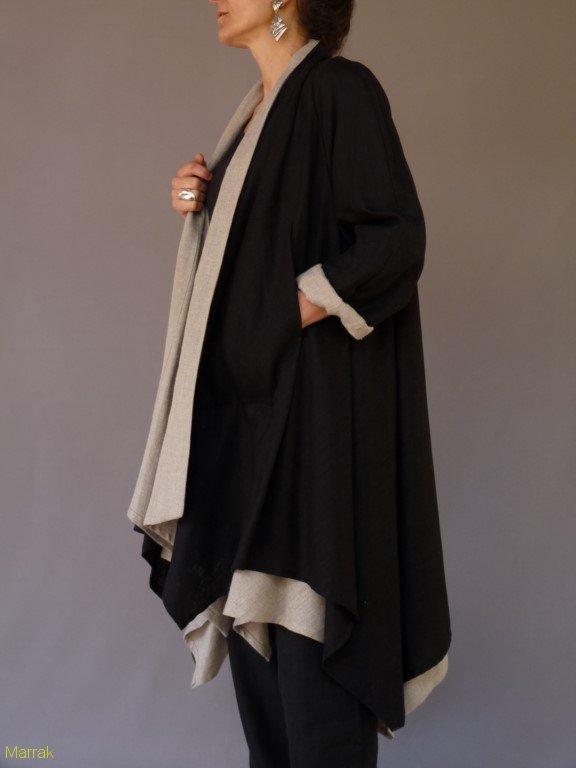 Manteau en double chaque 185€